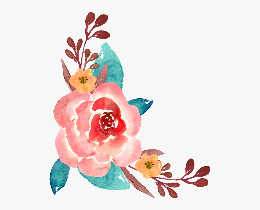 Hand-painted Flower Free Illustration - Hand Painting Flowers, Transparent Clipart