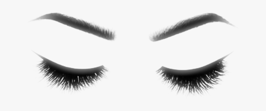 Eyebrow Clipart Eyeliner - Transparent Makeup Eyes Png, Transparent Clipart