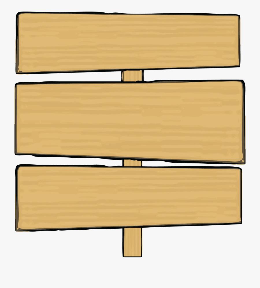 Sign Board Png Clipart Wood Sign Board Clip Art - Wood Sign Png Cartoon, Transparent Clipart