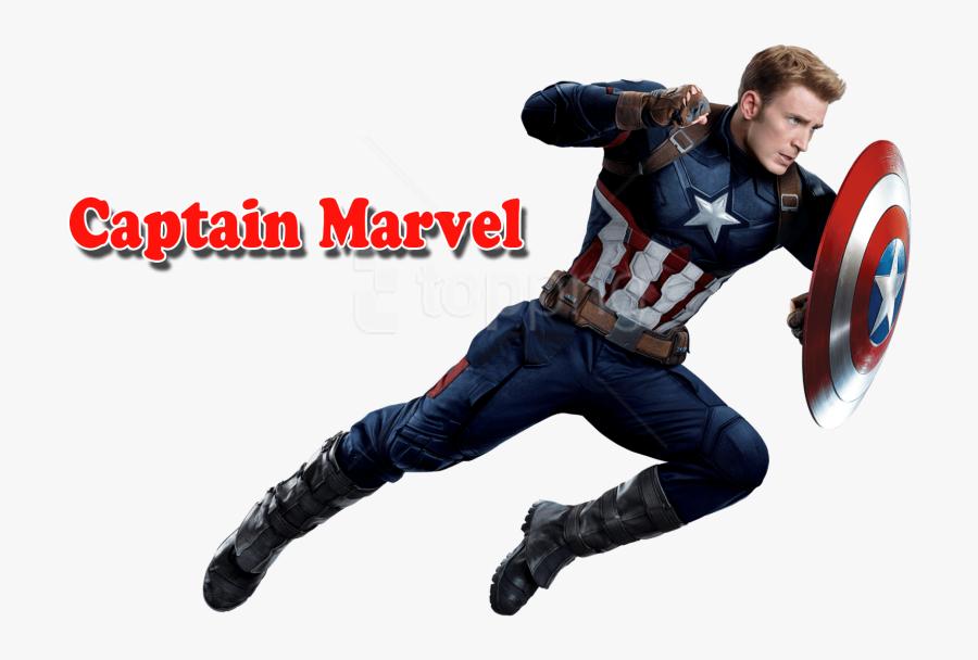 Download Captain Marvel Clipart Png Photo - Captain America Full Body, Transparent Clipart