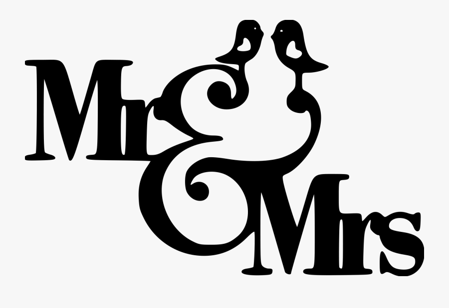 Transparent Groom Clipart - Mr And Mrs Clipart, Transparent Clipart
