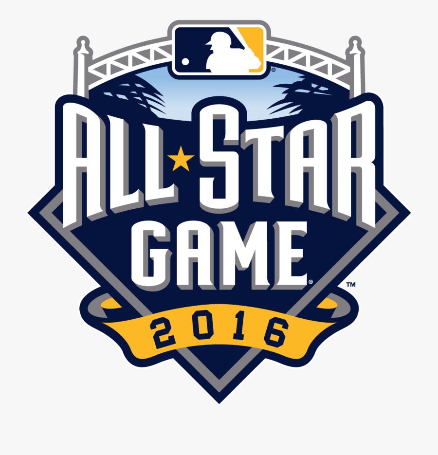 Transparent Softball Sliding Clipart - 2016 Major League Baseball All-star Game, Transparent Clipart