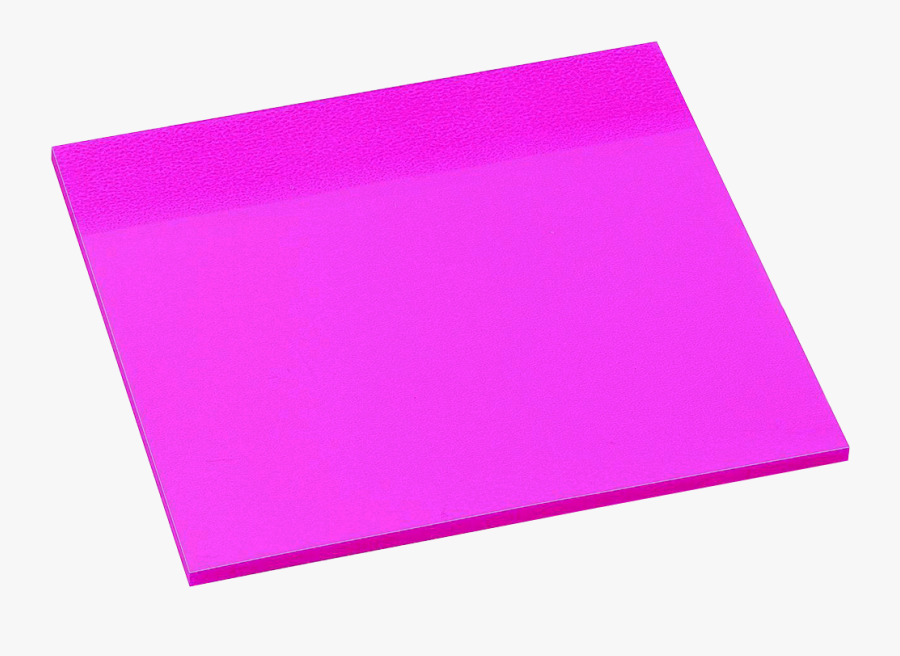 Avery See Through Sticky Note Pad - Hot Pink Post It Notes, Transparent Clipart