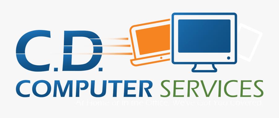 Computer Services- Sugar Land Computer Repair - Computer Service Logo Png, Transparent Clipart