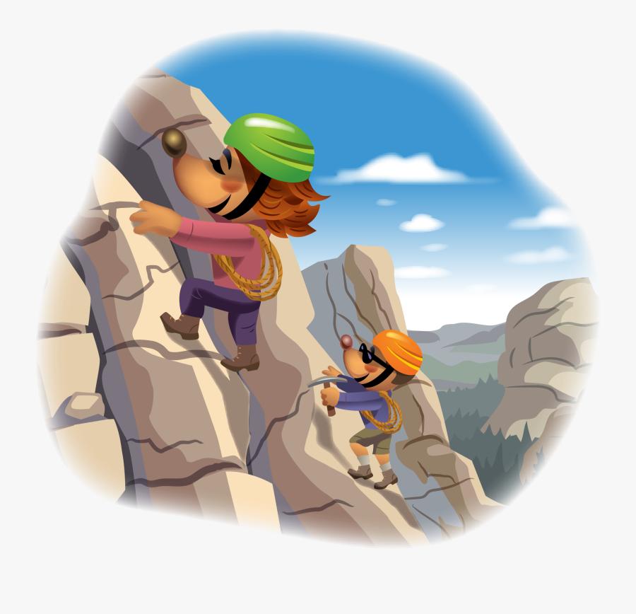 Transparent Mole Day Clipart - Mole Mountain Climber, Transparent Clipart