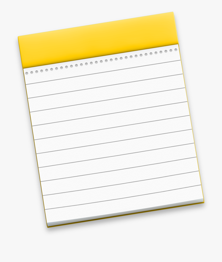 Note, Notes Icon Yosemite Preview Iconset Johanchalibert - Mac Os Notes Icon, Transparent Clipart