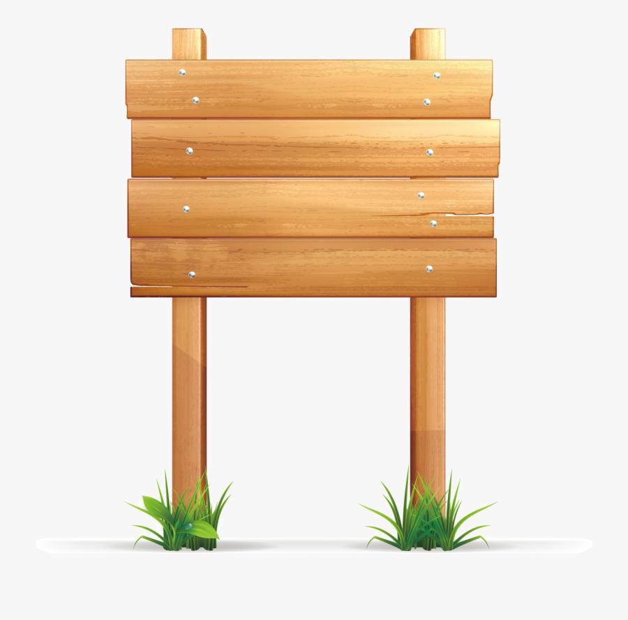 Royalty-free Wood Illustration - Wooden Sign Transparent Background, Transparent Clipart