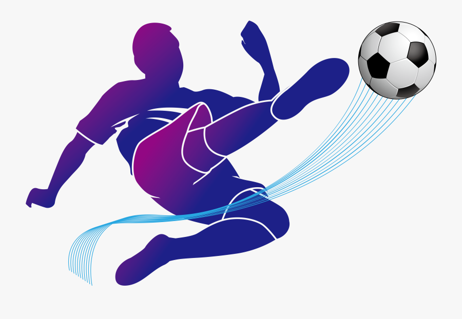 Football Player Vector Png Clipart , Png Download - Football Player Football Icon, Transparent Clipart