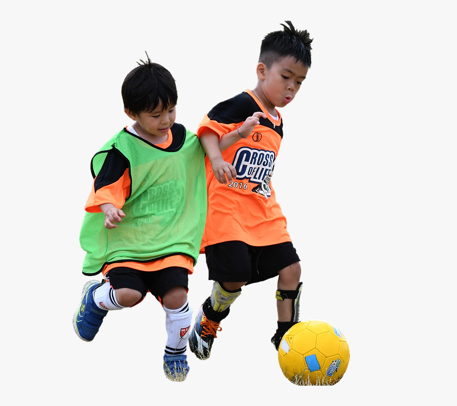 Play Soccer Cliparts 24, Buy Clip Art - Kids Playing Soccer Png, Transparent Clipart
