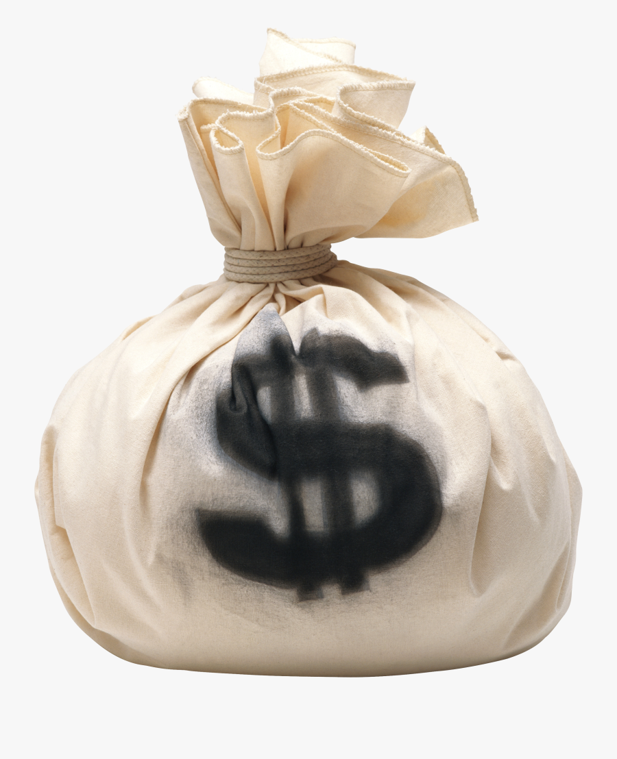 Economy Clipart Money - Money Bag Bank Robbery, Transparent Clipart