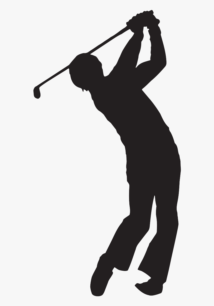 Golfer Outline Clip Art Outline Of A Golfer Png Free Transparent Clipart Clipartkey