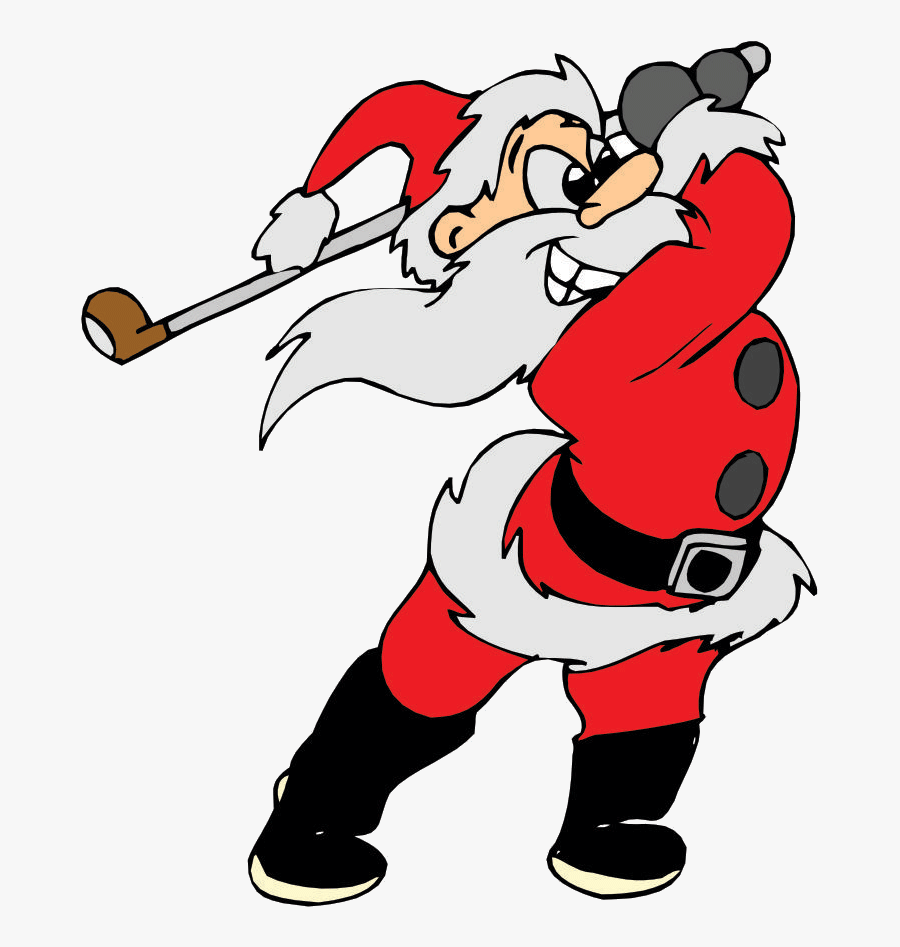 Christmas Open Los Arqueros Golf - Golf Merry Christmas And A Happy New Year, Transparent Clipart
