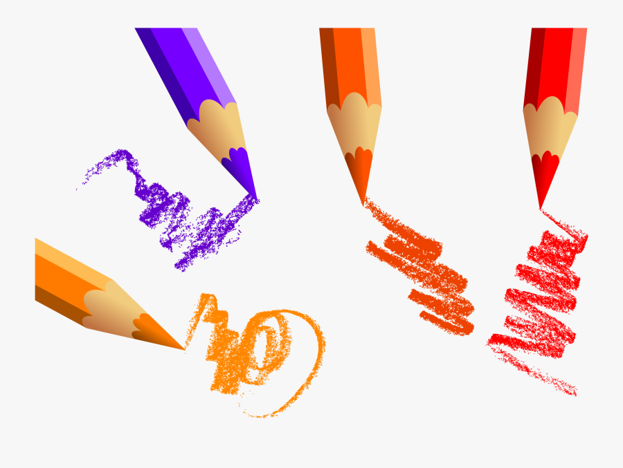 Color Pencil Creative Colored Drawing Hd Image Free - Drawing Color Pencil Clipart, Transparent Clipart