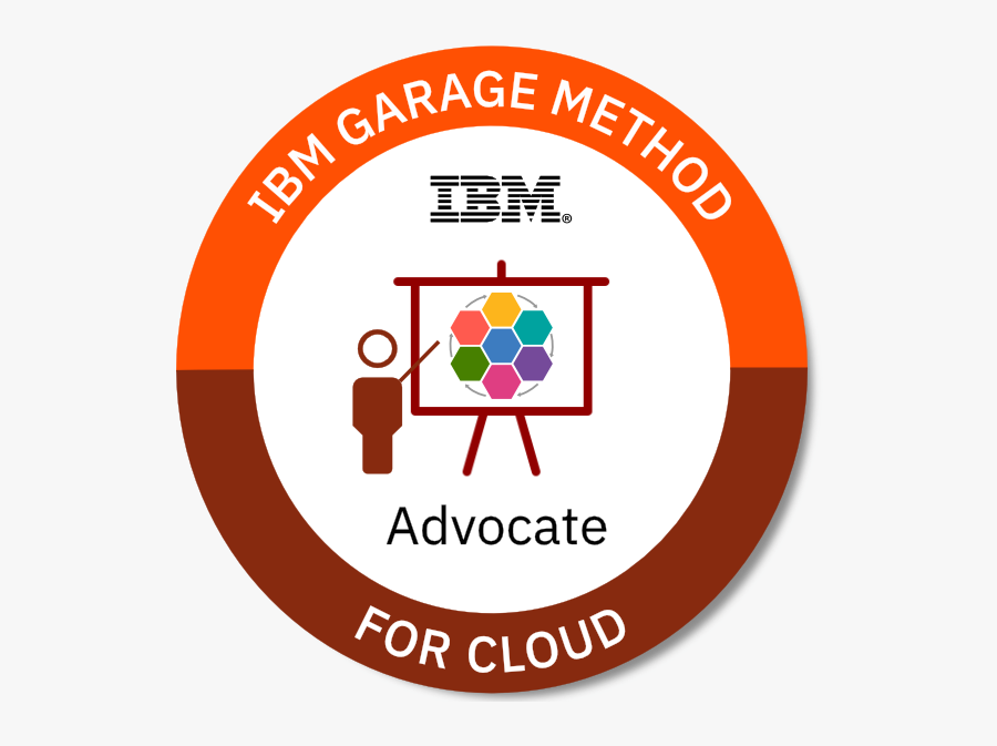 Become A Garage Method For Cloud Advocate - Watson Machine Learning Accelerator, Transparent Clipart