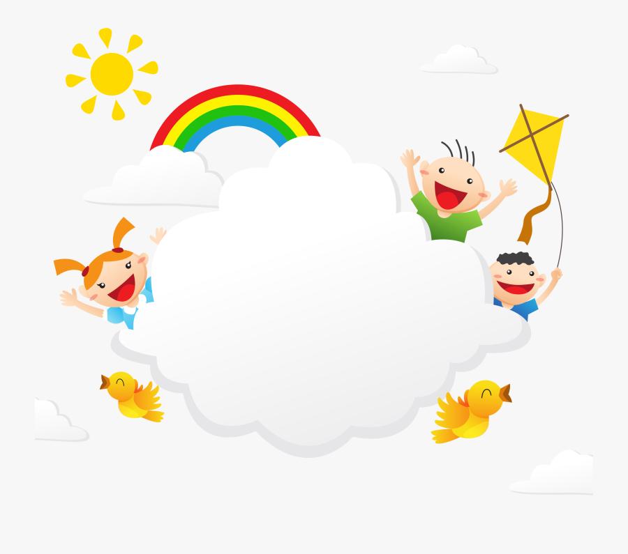 Transparent Cartoon Character Clipart - Happy Children's Day Flex, Transparent Clipart