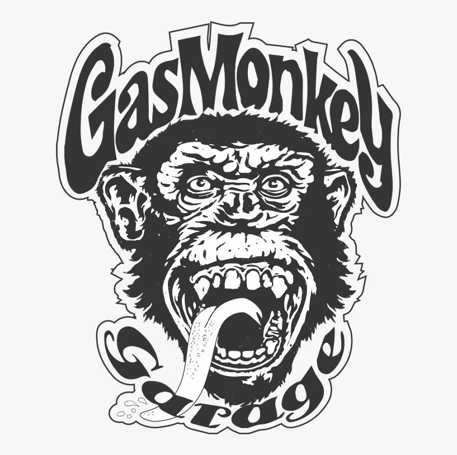 Film Clipart Gas Monkey - Gas Monkey Car Stickers, Transparent Clipart