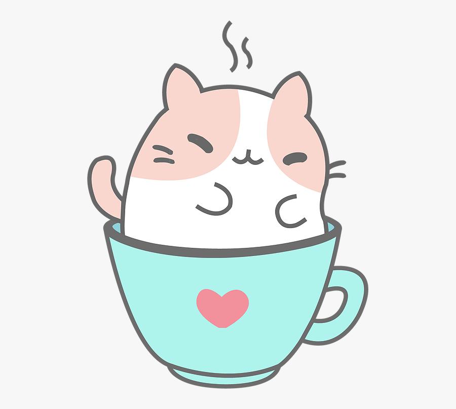 Kitty Clipart Kawaii - Kawaii Kitty Cat, Transparent Clipart