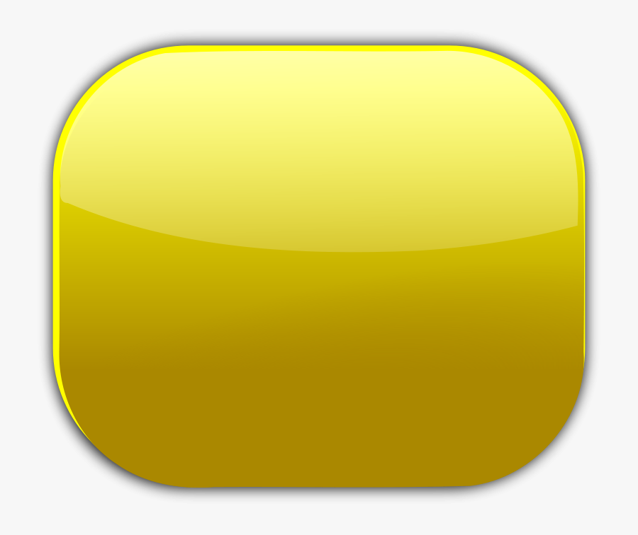 "Free Clip Art ""gold Button - Gold Button Square Png, Transparent Clipart"