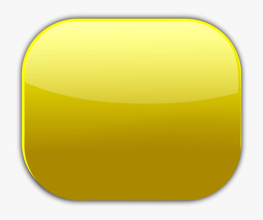 "Free Clip Art ""gold Button - Gold Button Square Png, Transparent Clipart"