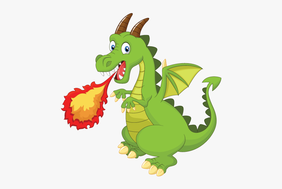 Wheelchair Costume Child S - Cartoon Fire Breathing Dragon, Transparent Clipart