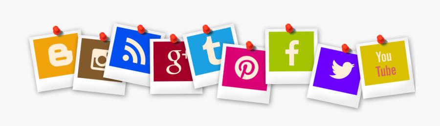 Icon, Polaroid, Blogger, Rss, App, You Tube, Pinterest - Social Media Sentiment Analysis, Transparent Clipart