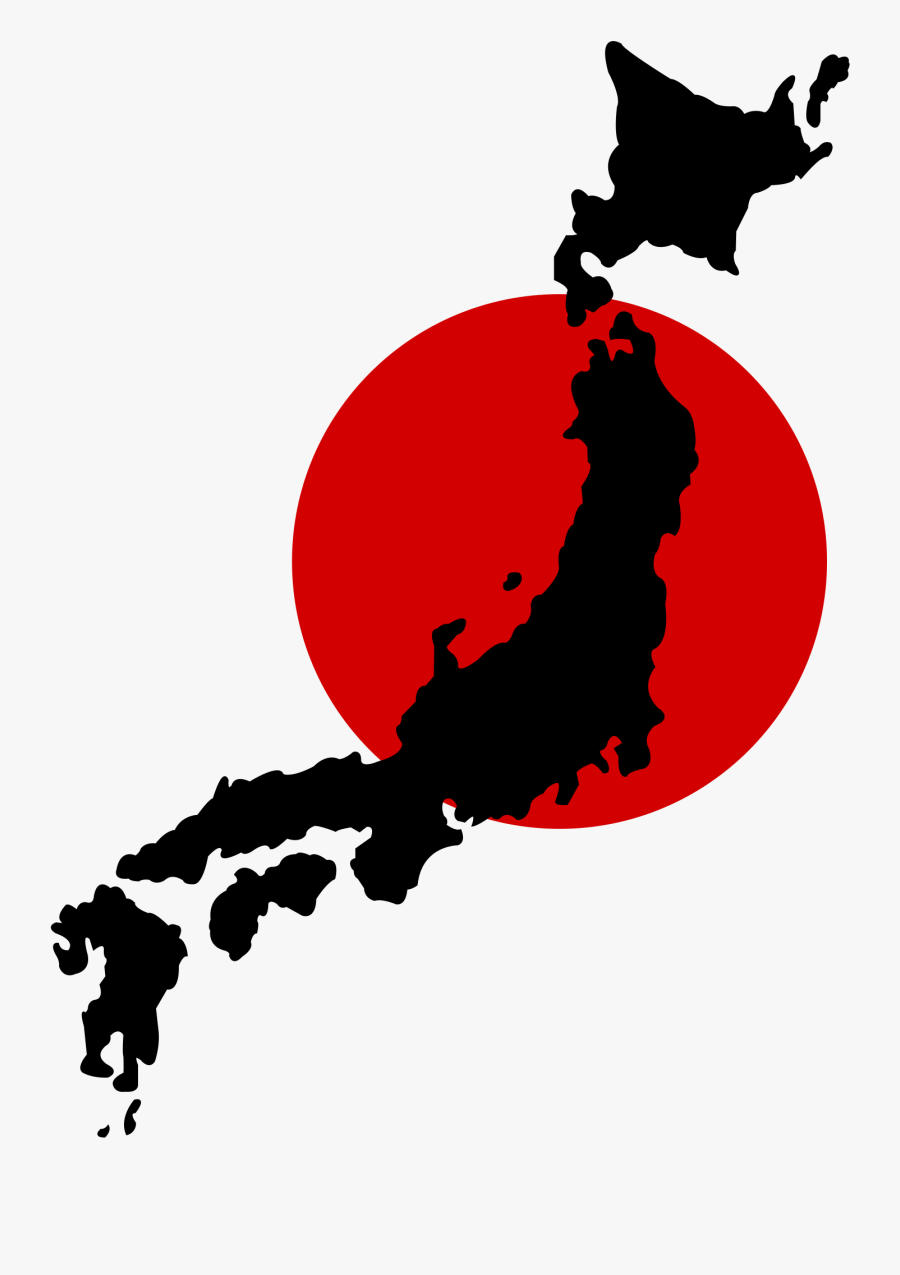 Japan Map Vector Png Clipart , Png Download - Japan Map Vector Png, Transparent Clipart