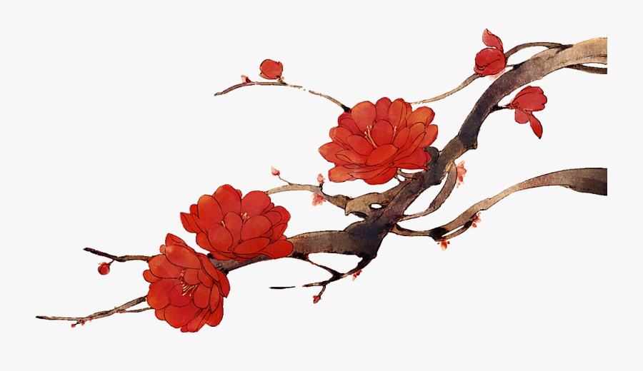 #flover #red #japan #clipart #by Naisucat - 古风 Png, Transparent Clipart