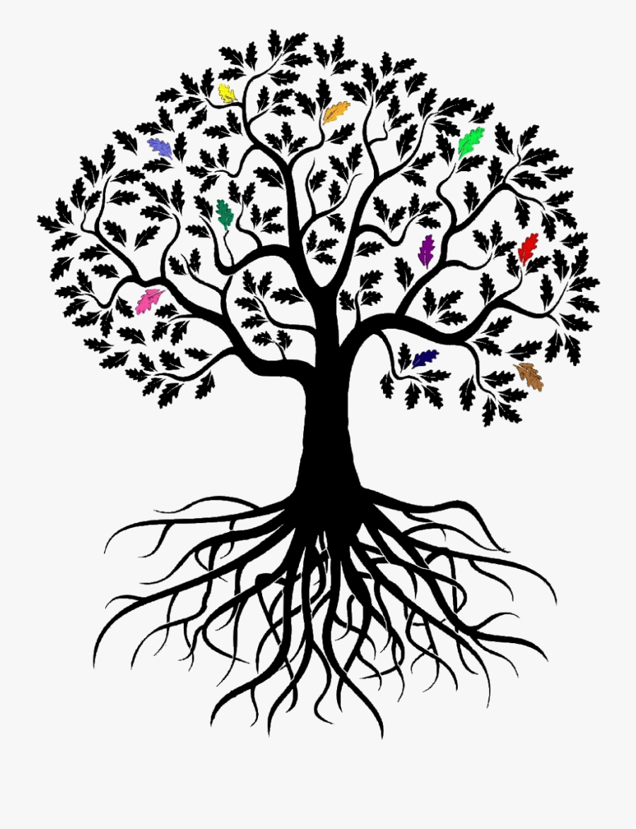 Clip Art Vector Graphics Stock Illustration Openclipart - Family Tree With Roots, Transparent Clipart