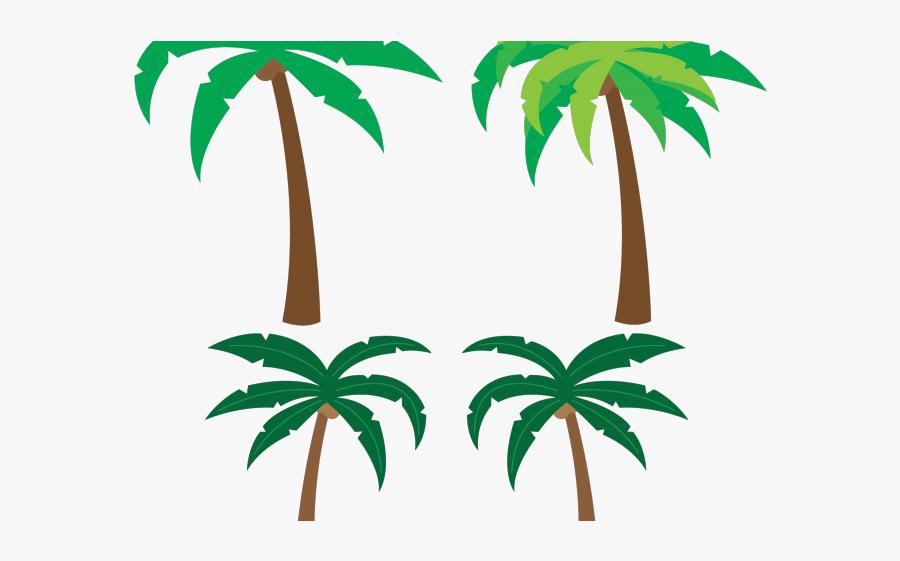 Small Palm Tree Clip Art, Transparent Clipart