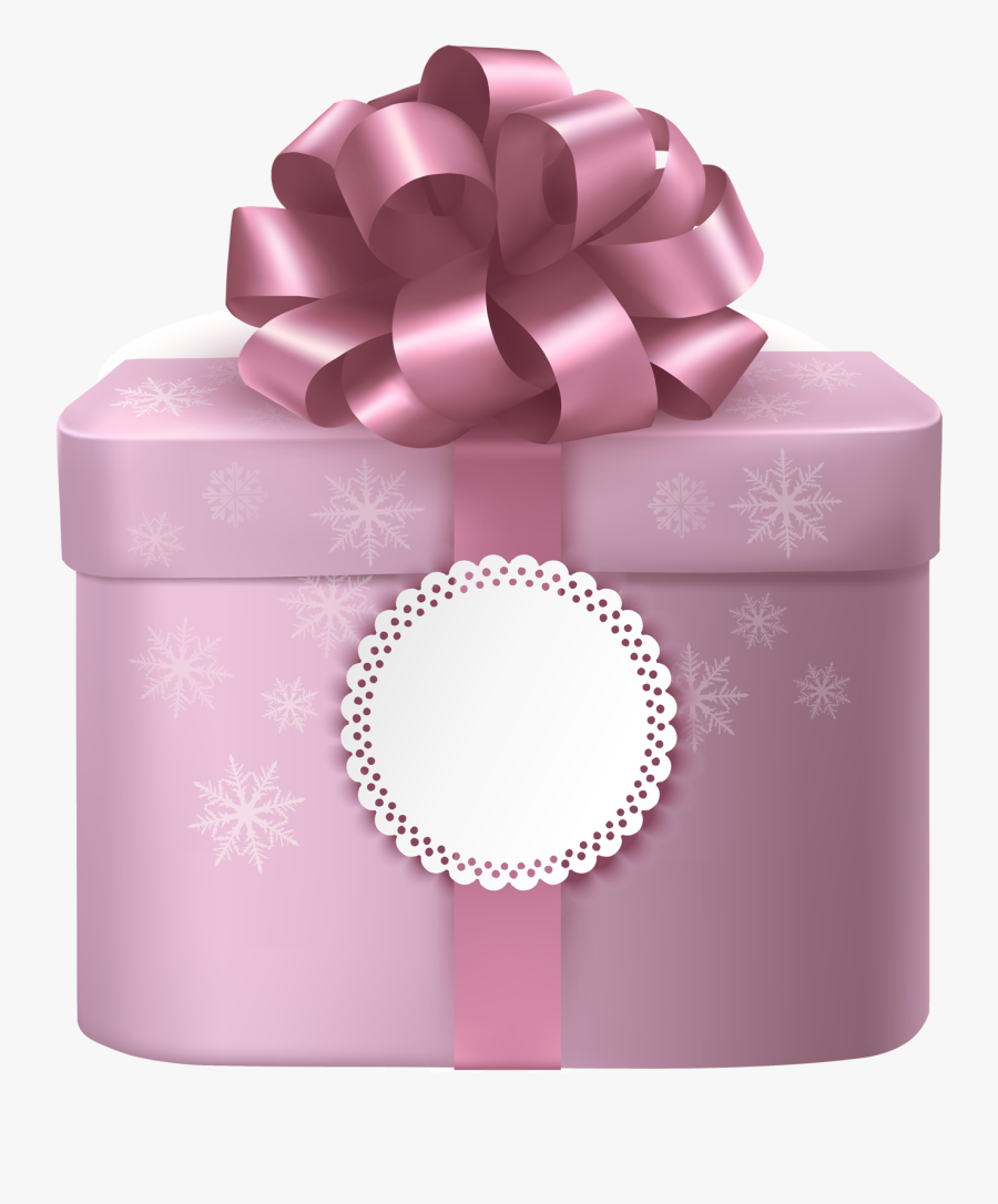 Clip Art Gifts Box With Gallery - Cute Gift Box Png, Transparent Clipart