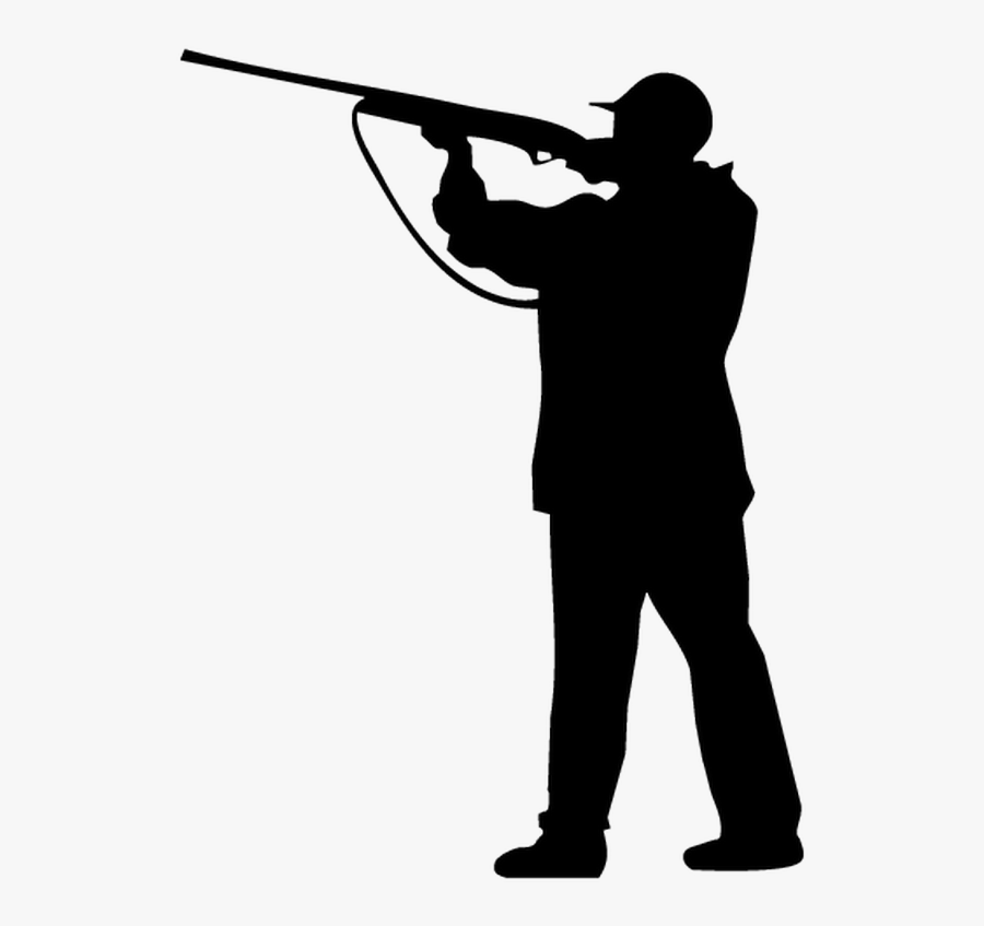 Clip Art Hunter Silhouette - Hunting Vector, Transparent Clipart