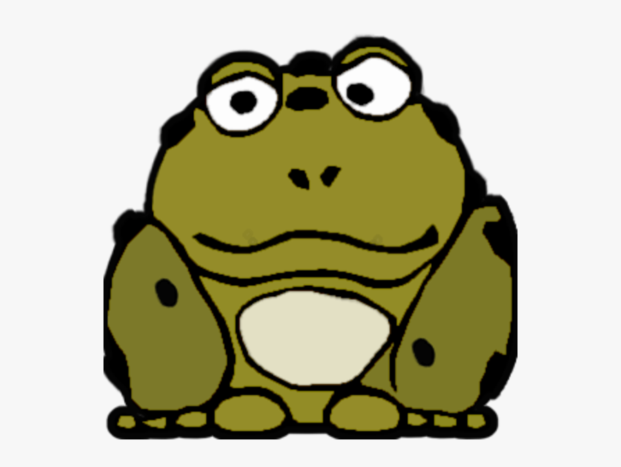 Ugly Frog Clipart, Transparent Clipart