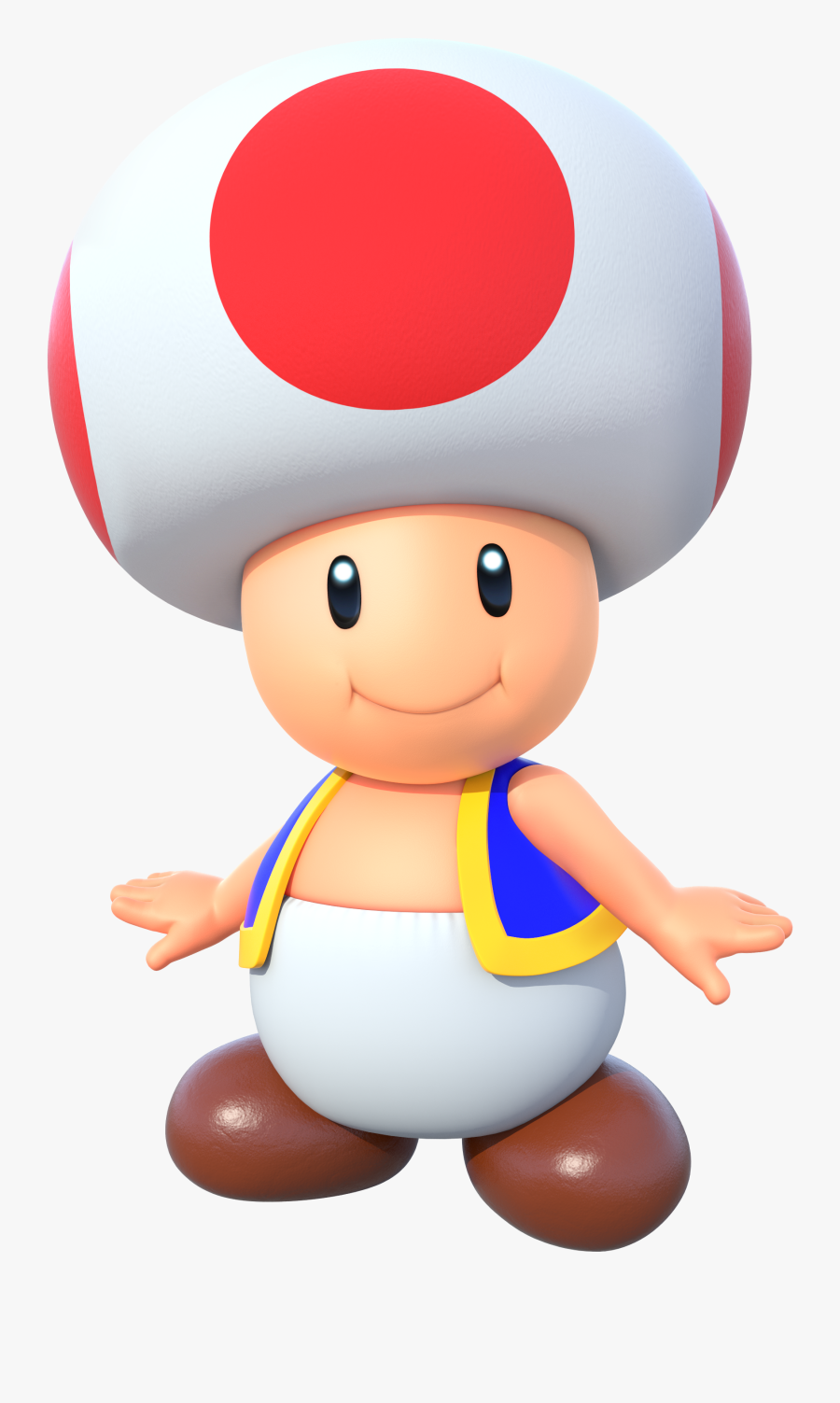 Super Mario Party Toad Clipart , Png Download - Super Mario Characters Png, Transparent Clipart