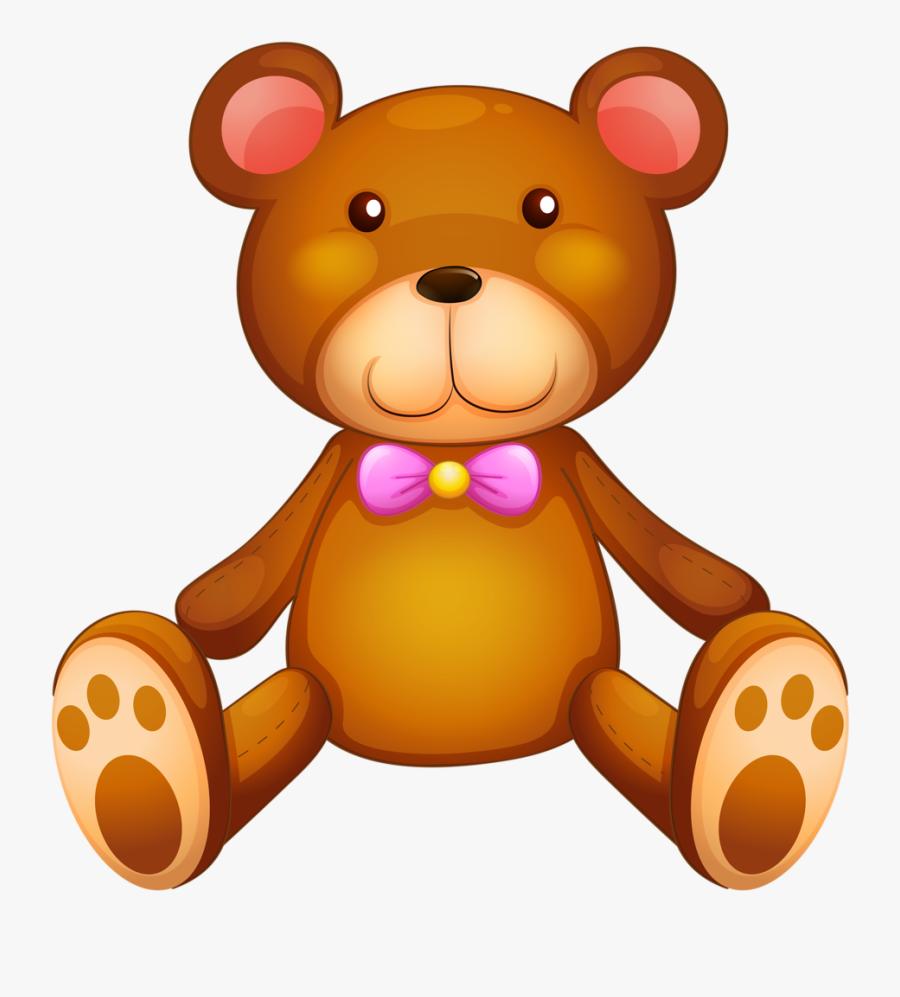 Hunter Clipart Cartoon Bear - Clipart Cartoon Stuffed Animals, Transparent Clipart