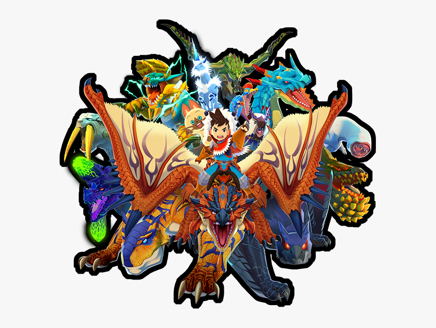 Clip Art Monster Hunter Stories Codes - Monster Hunter Stories Android, Transparent Clipart