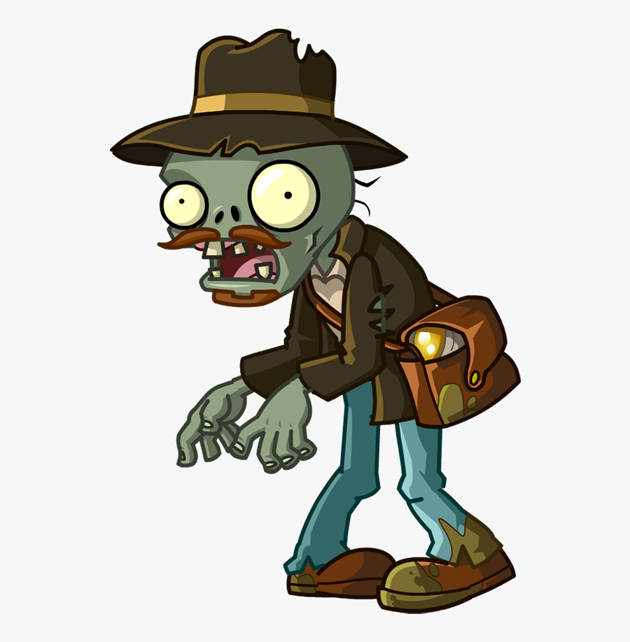 Plants Vs Zombies 2 Relic Hunter Zombie Clipart , Png - Plants Vs Zombies Png, Transparent Clipart