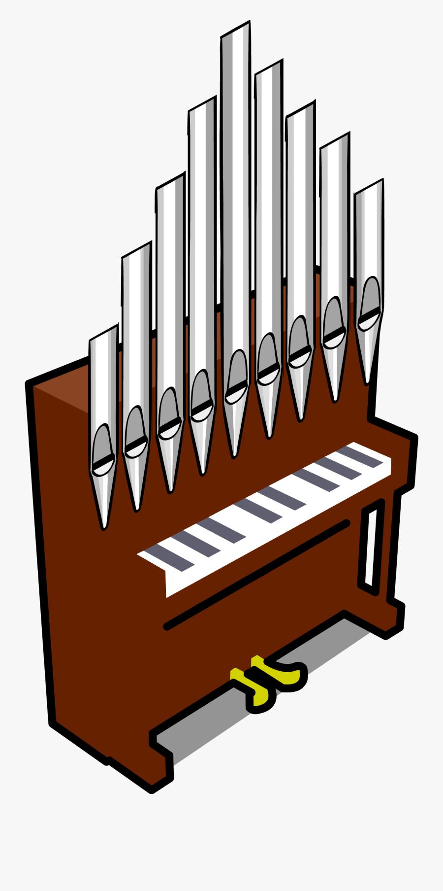 Clip Art Pipe Organ Clipart - Clip Art Upright Piano, Transparent Clipart