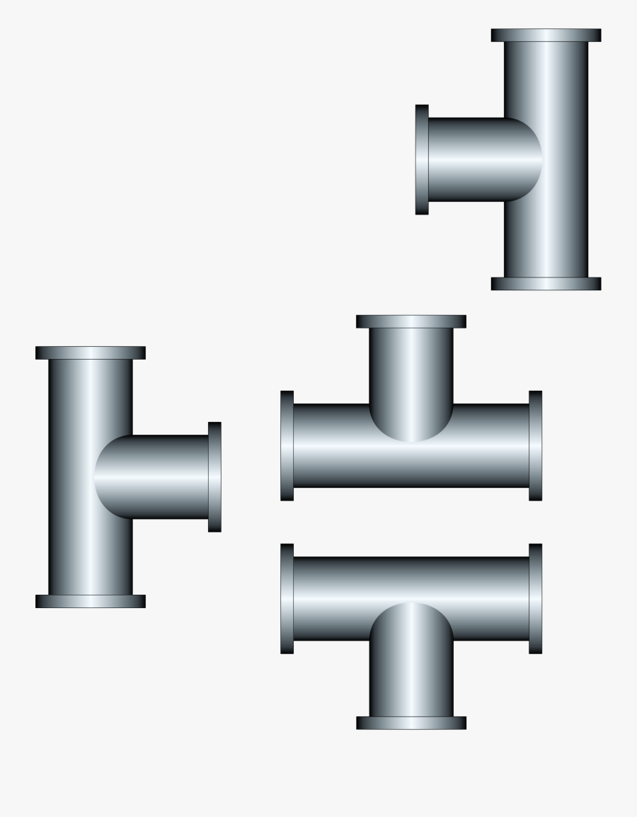 Pipe Clipart Steel Pipe - Piping Png, Transparent Clipart