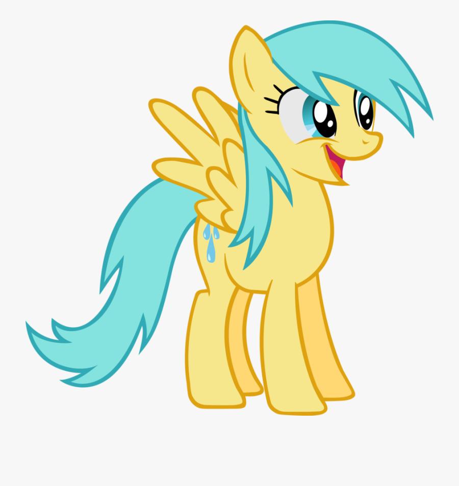 Raindrop Clipart Sky Rain - My Little Pony Rainbow Dash Drawing, Transparent Clipart