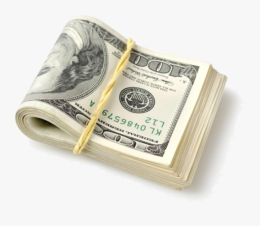 Hundred Dollar Bills Transparent Clipart Free Download - Hundred Dollar Bills Transparent, Transparent Clipart