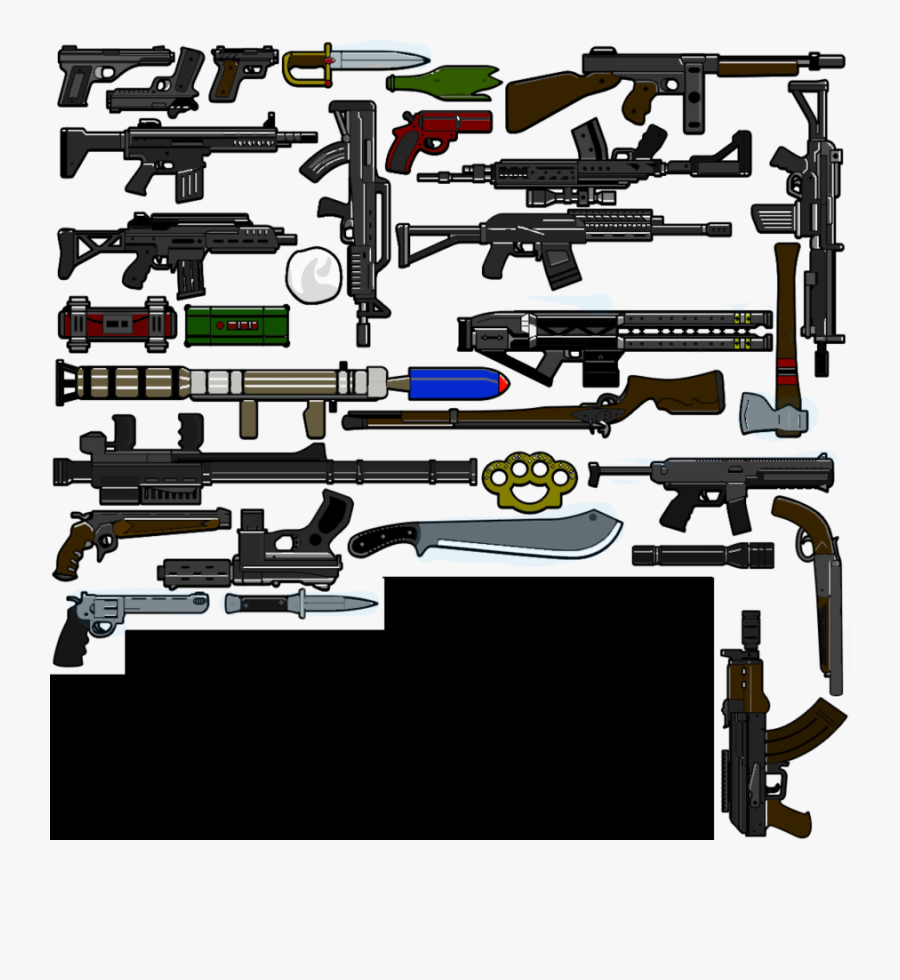 Download Gta 4 Episodes From Liberty City Weapon Clipart - Grand Theft Auto V Gun, Transparent Clipart