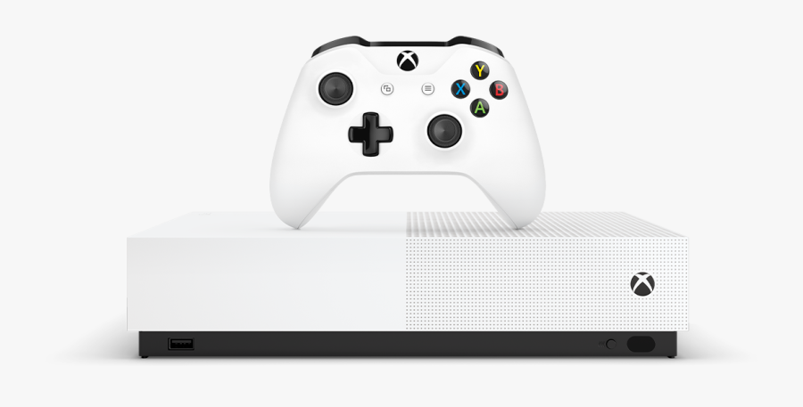 Xbox One S All Digital, Transparent Clipart