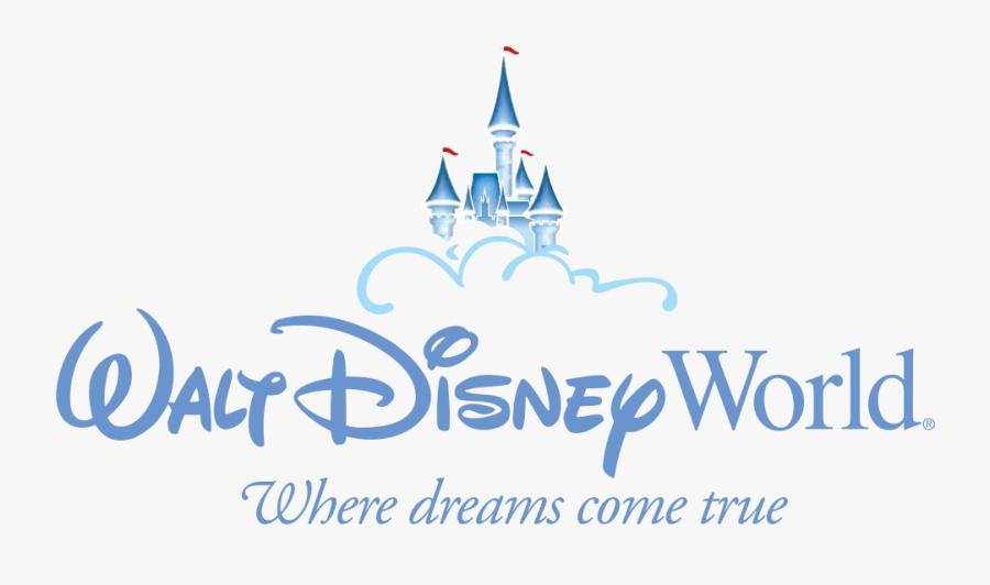 Transparent Mickey Mouse Symbol Png - Walt Disney World Resort Logo, Transparent Clipart