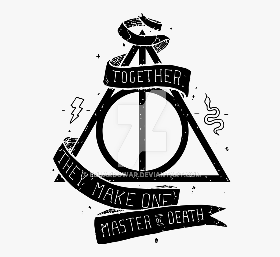 Harry Potter Inspiration › - Harry Potter Deathly Hallows Png, Transparent Clipart