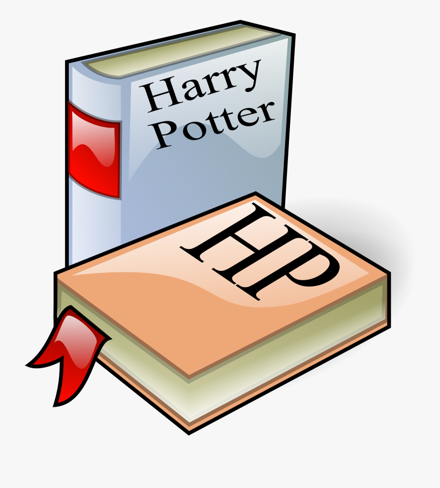 File - Hp Books - Svg - Wikimedia Commons Jpg Library - Harry Potter Book Clipart, Transparent Clipart