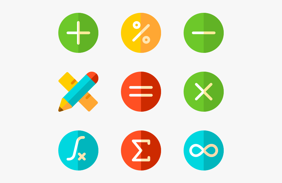 Mathematics Icons Math Png Free Transparent Clipart Clipartkey