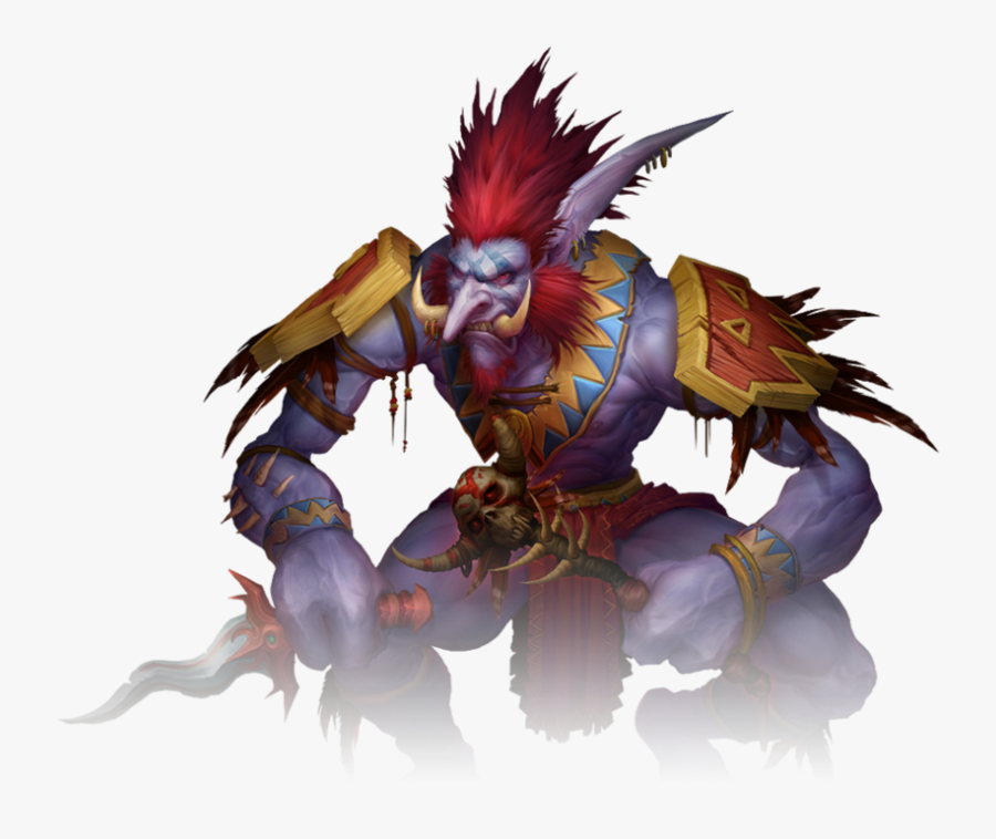 Transparent Trolls Branch Png - Troll World Of Warcraft Png, Transparent Clipart