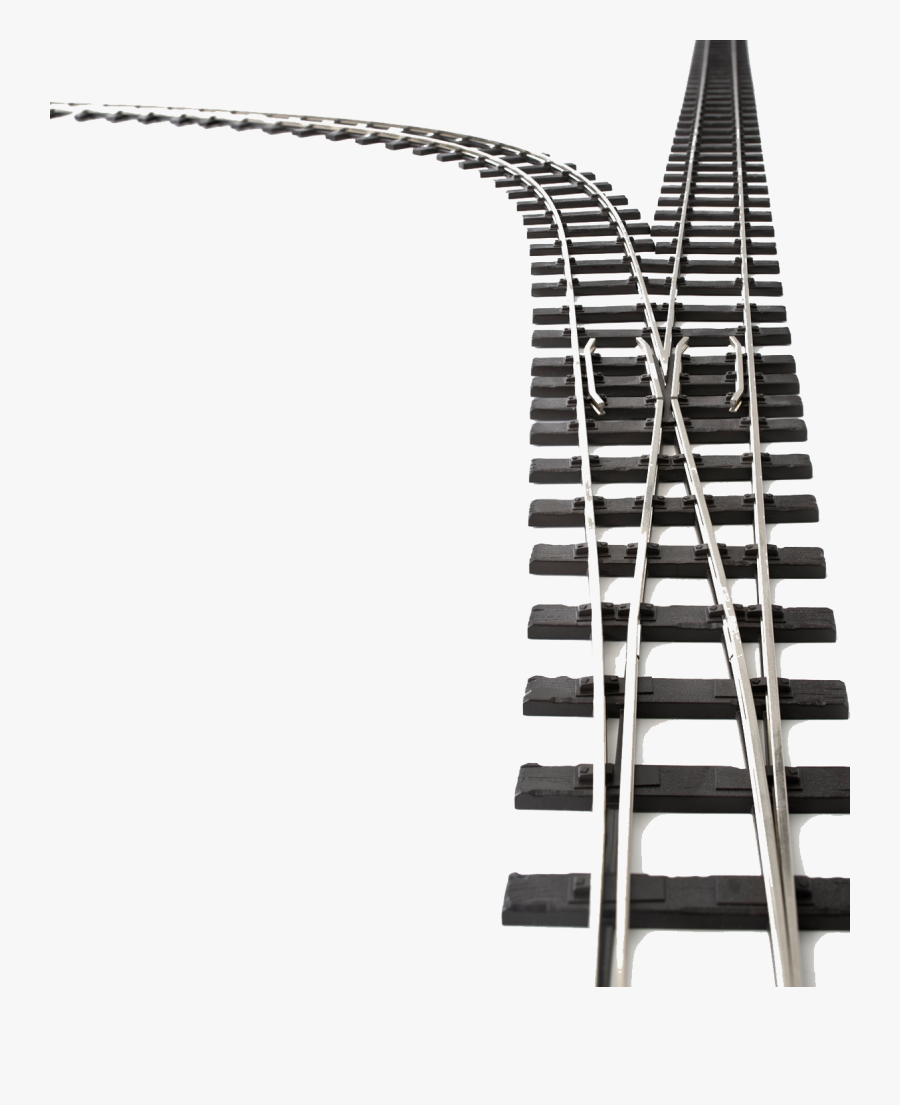 Railroad Tracks Png - Train Tracks Transparent Background, Transparent Clipart