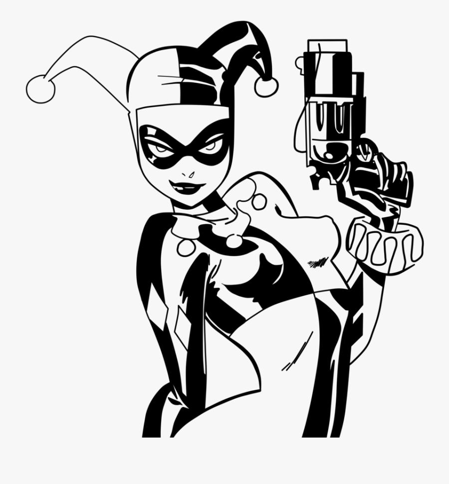 Harley Quinn Joker Poison Ivy Batman Comics - Bruce Timm Art Harley Quinn, Transparent Clipart