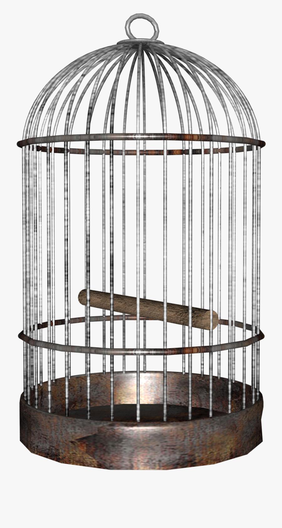 Cage - Clipart - Birdcage Png, Transparent Clipart